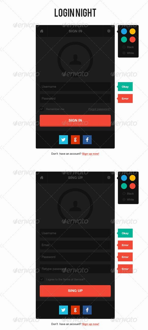 29 Remarkable HTML & Css Login form Templates Download