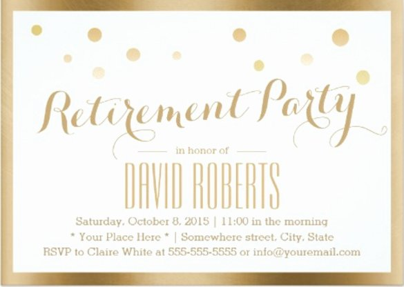 29 Retirement Invitation Templates Psd Ai Word
