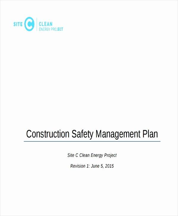 29 Safety Plan Samples