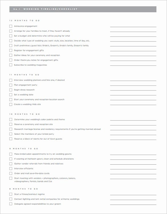 29 Wedding Timeline Template Word Excel Pdf Psd