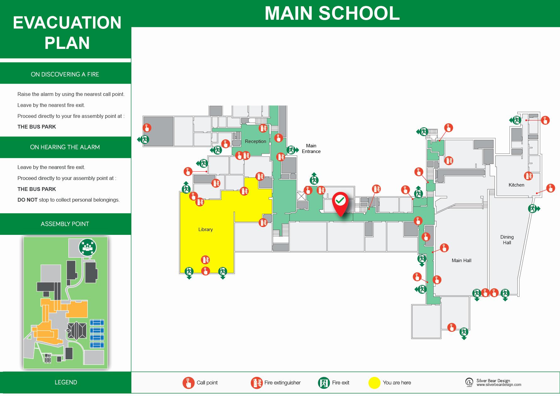 2d Plan School