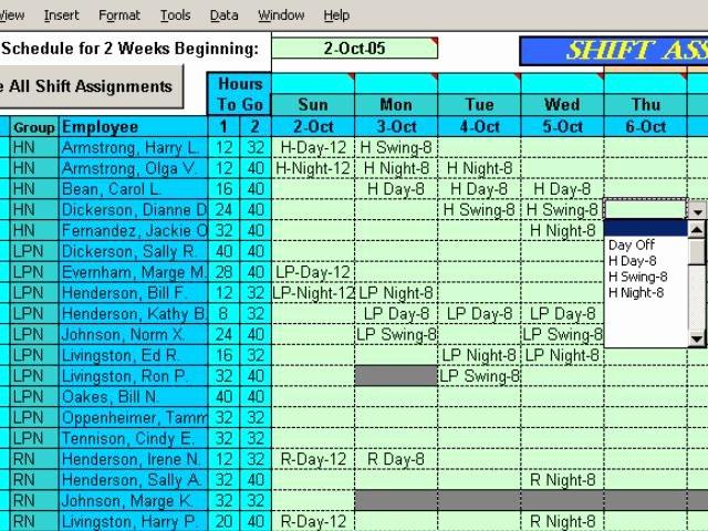 3 2 2 Shift Schedule