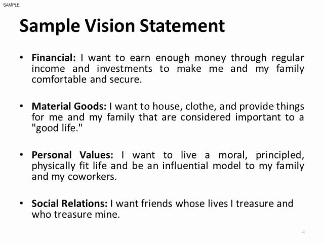 3 4 How to Write A Personal Vision Statement