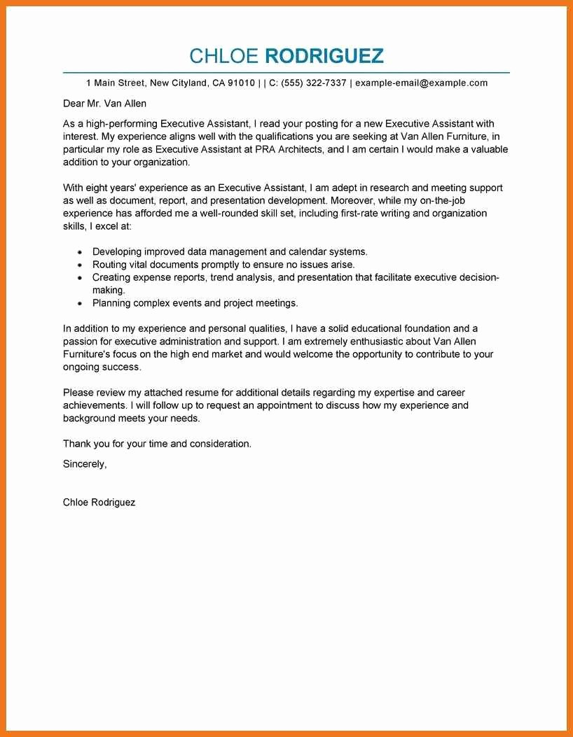 3 4 Personal assistant Cover Letter