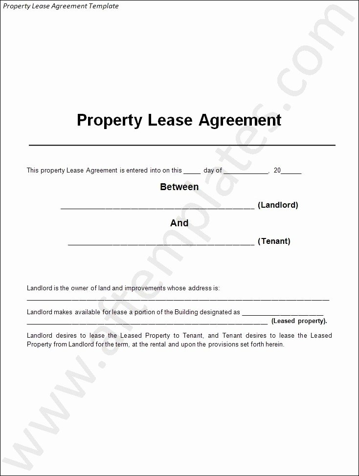 3 Best Lease Agreement Templates