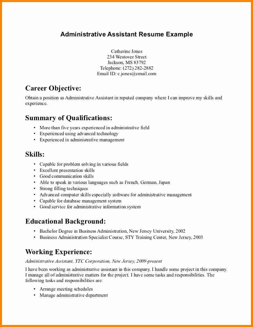 3 Cover Letter Objective Statement Examples