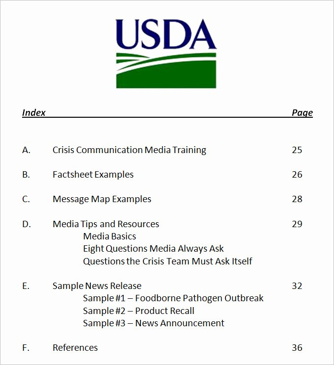 3 Crisis Munication Plan Templates Doc Pdf