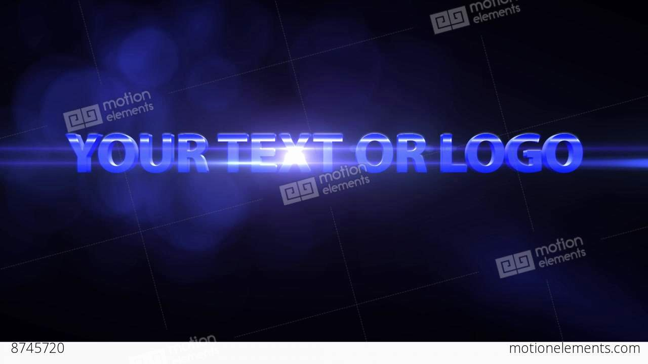 3 D Text Animation after Effects Templates