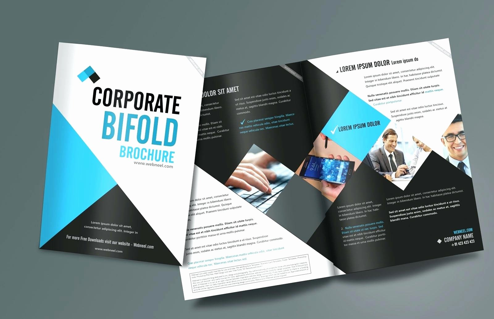 3 Fold Brochure Template Indesign