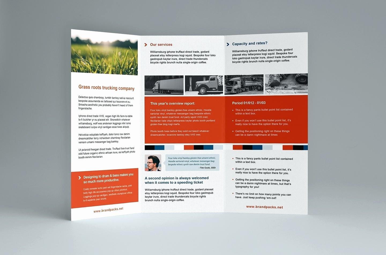 3 Fold Brochure Template Indesign