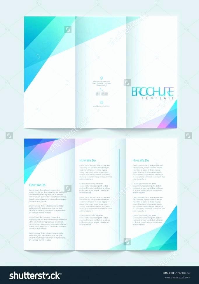 3 Folding Brochure Templates