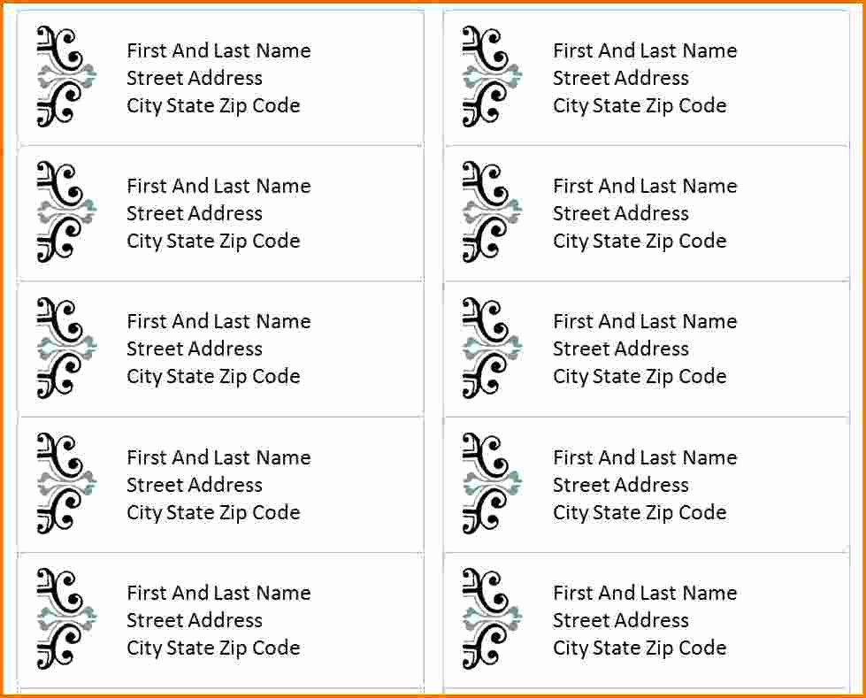 3 Free Address Label Templates