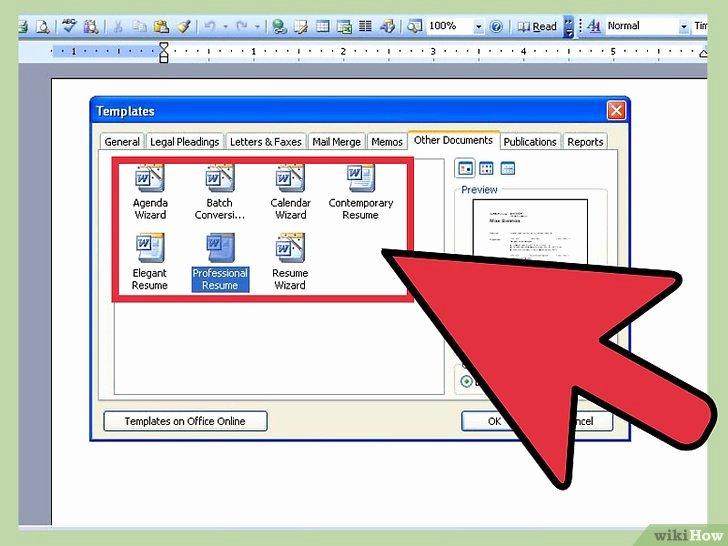 3 Modi Per Creare Un Curriculum Con Microsoft Word