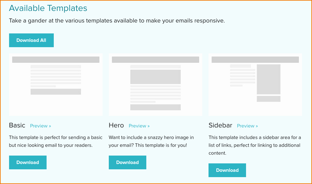 3 Outlook Newsletter Template