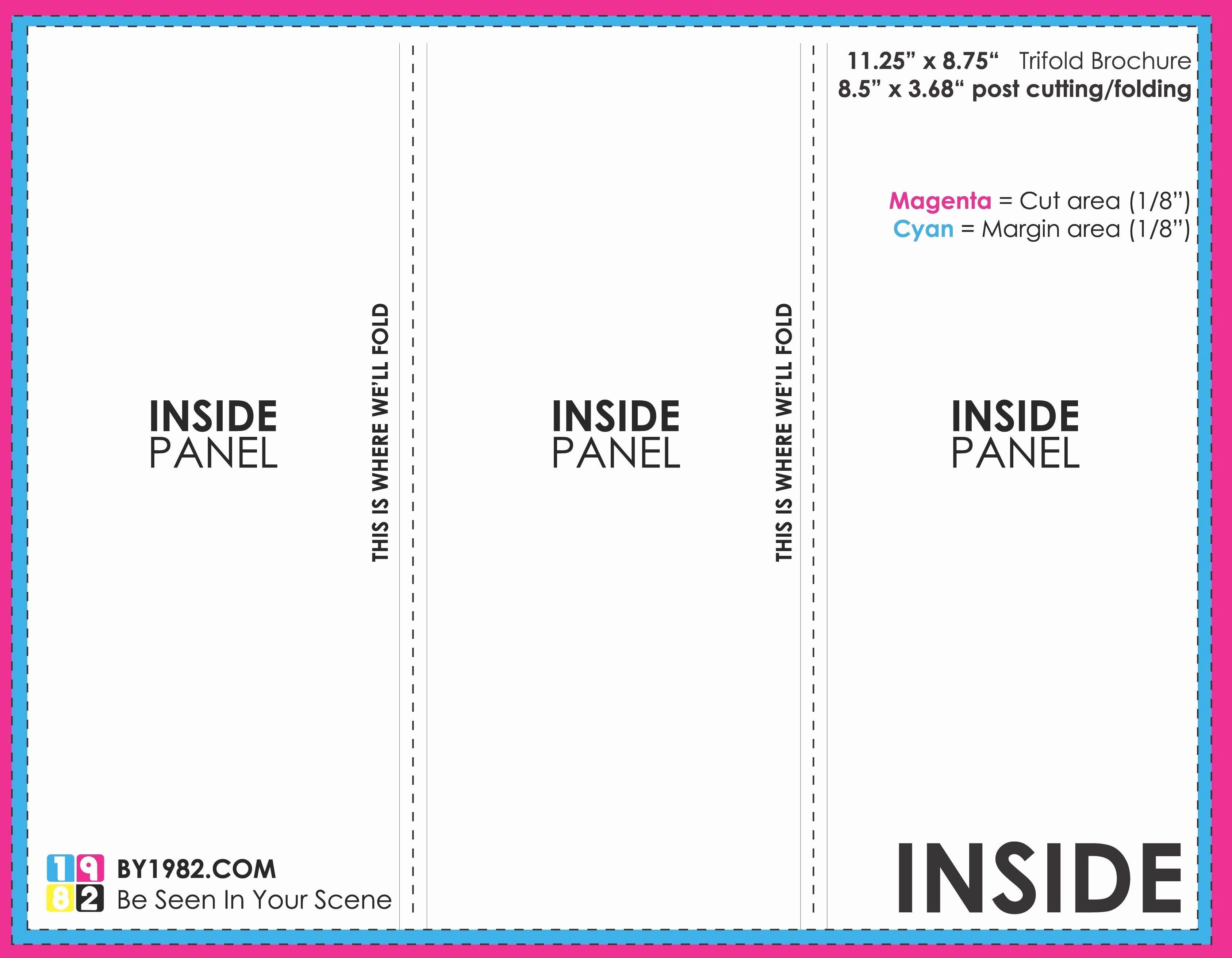 3 Panel Brochure Template Google Docs