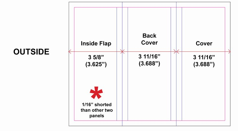 3 Panel Brochure Template How to Set Up Tri Fold Brochures