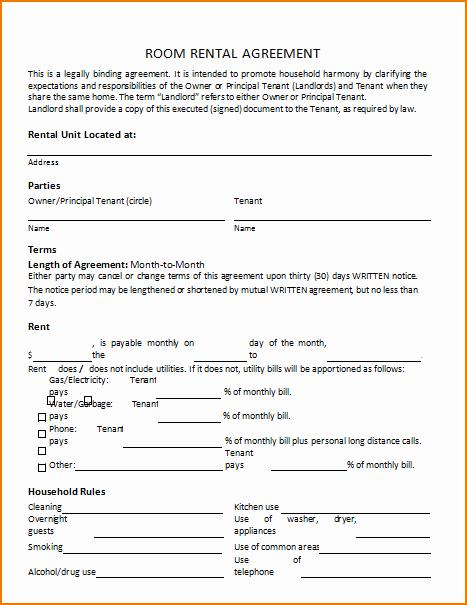 3 Rental Agreement Template Free