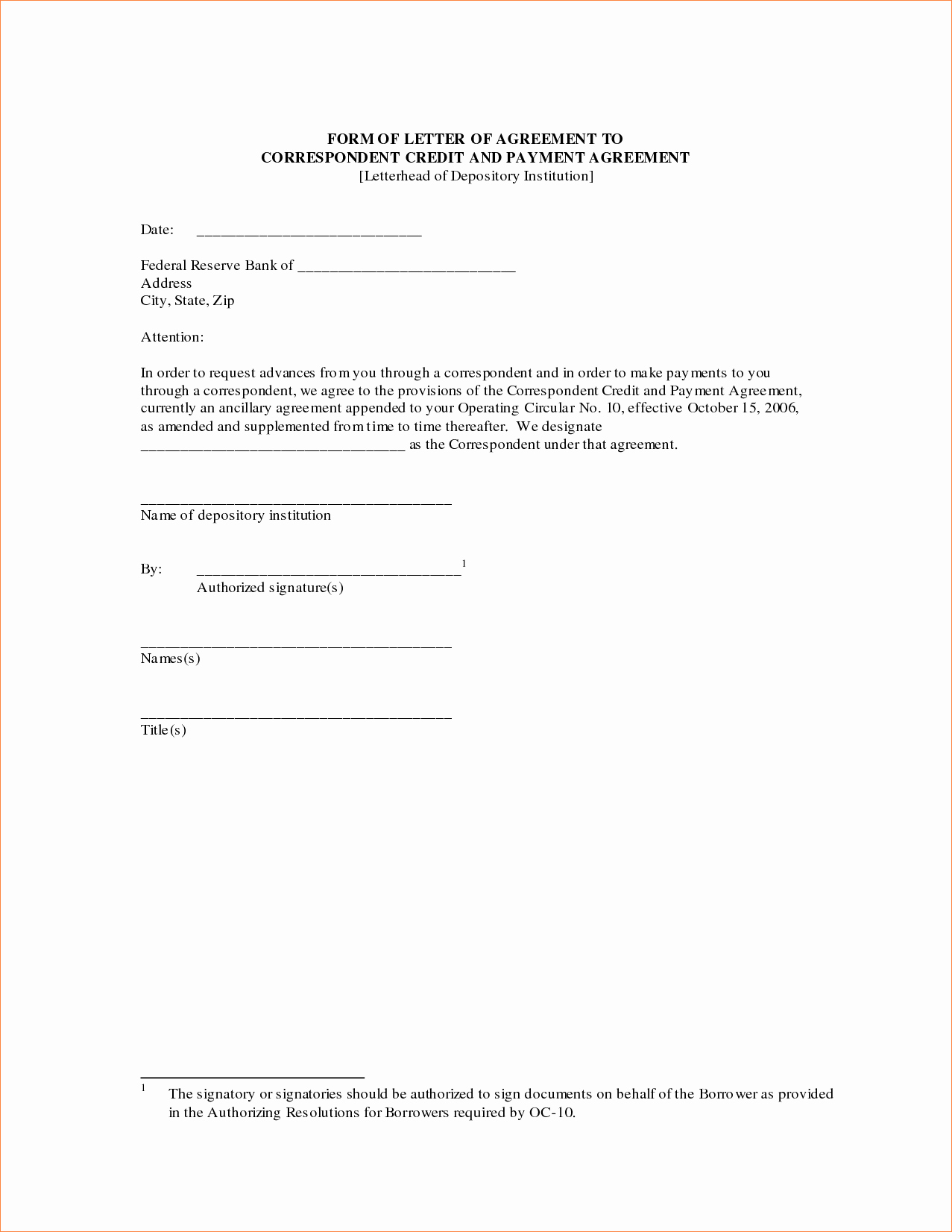3 Sample Payment Agreementreport Template Document