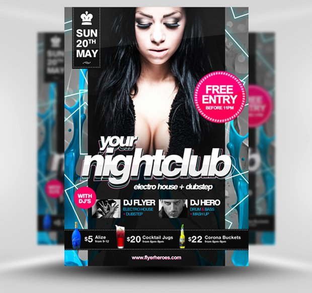 30 Amazing Free Flyer Templates From Flyerheroes Extras