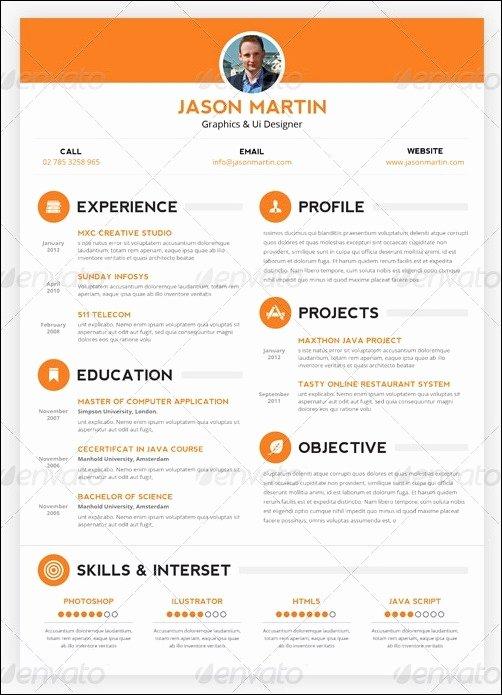 30 Amazing Resume Psd Template Showcase