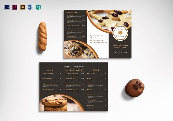 30 Bakery Menu Templates Psd Pdf Eps Indesign