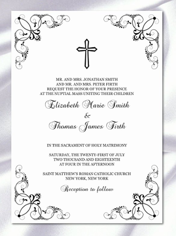 30 Baptism Invitation Templates – Free Sample Example format Download