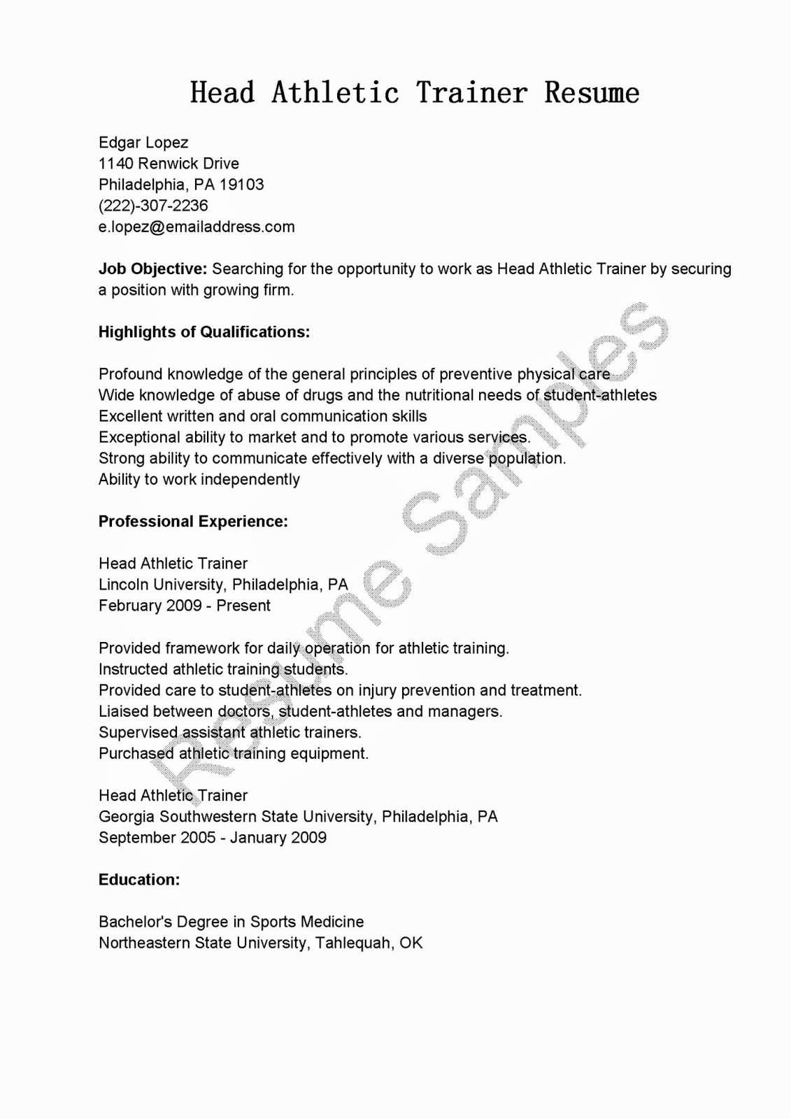 30 Basic Student athlete Resume Jv O – Resume Samples
