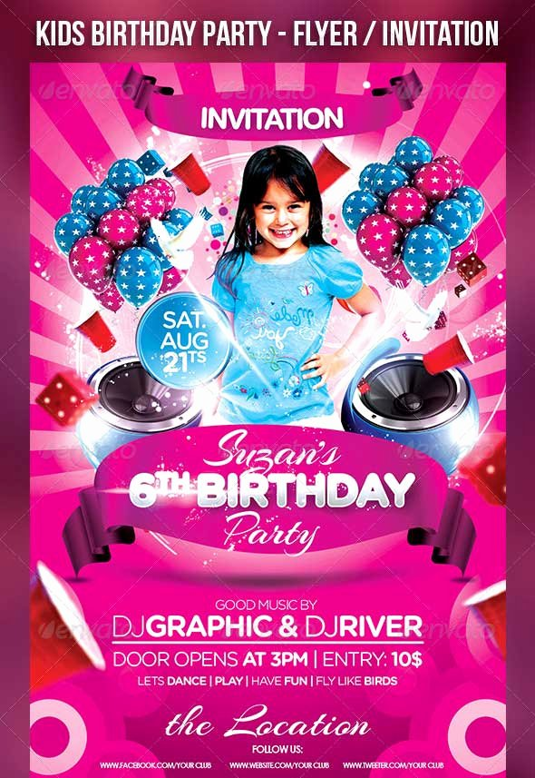 30 Best Birthday Psd Flyer Templates Designssave