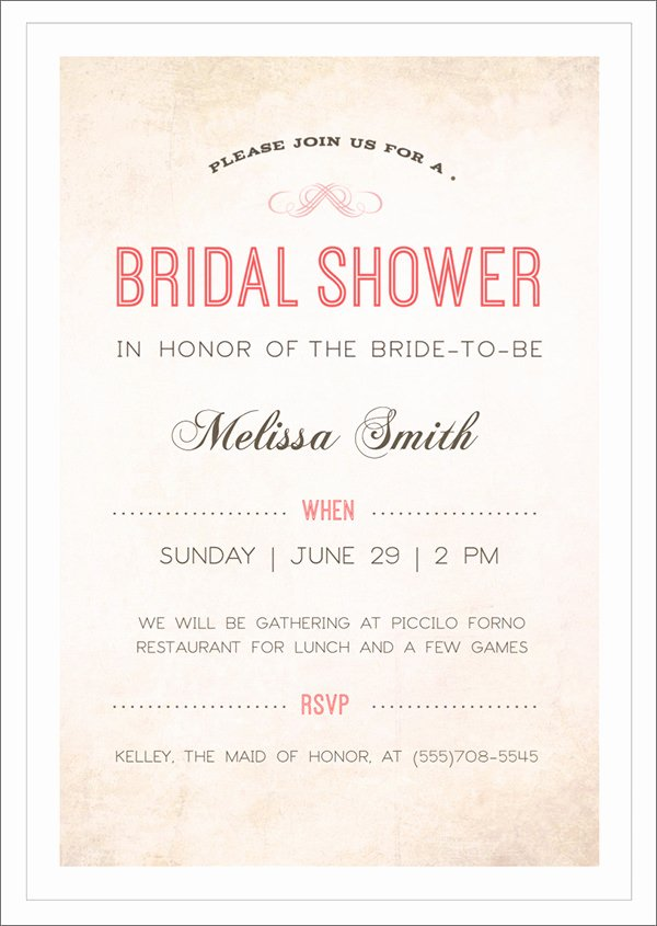 30 Best Bridal Shower Invitation Templates