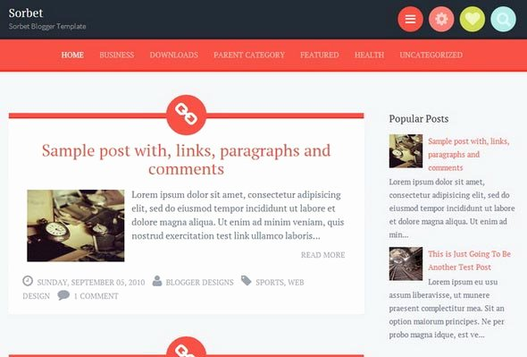 30 Best Free Blogger Templates – Early 2014