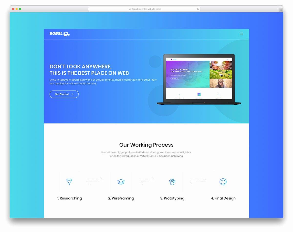30 Best Free Landing Page Templates 2019 Uicookies