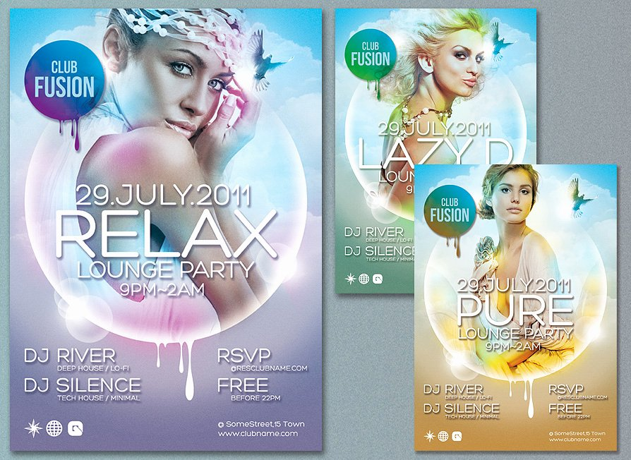 30 Best Free Psd Flyer Templates