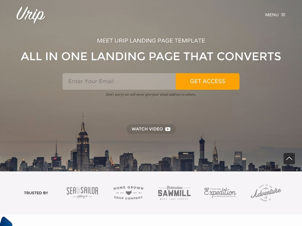 30 Best Landing Page Wordpress themes 2016 athemes