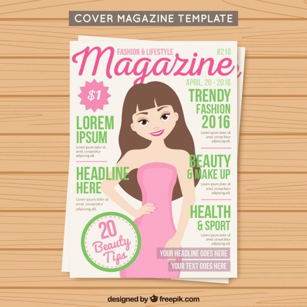 30 Best Magazine Cover Page Designs Psd Templates