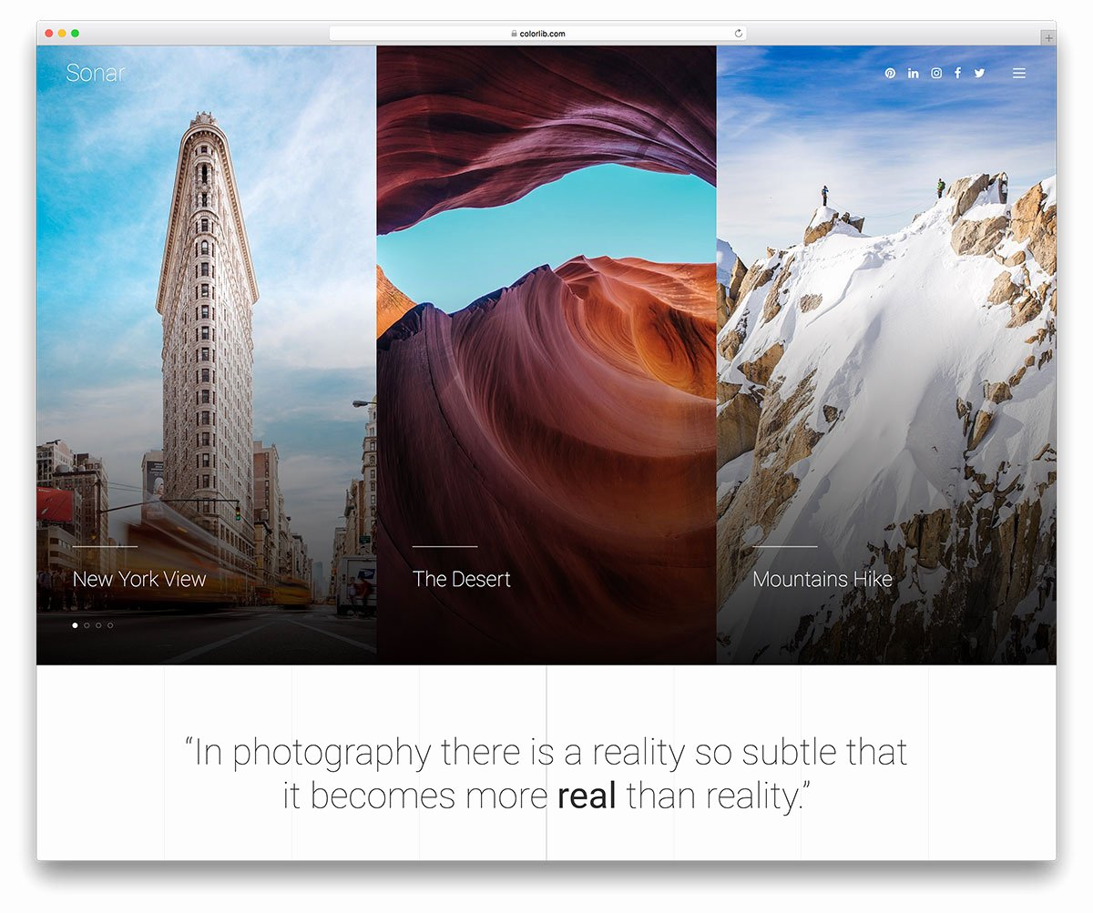 30 Best Stunning Free Graphy Website Templates [html