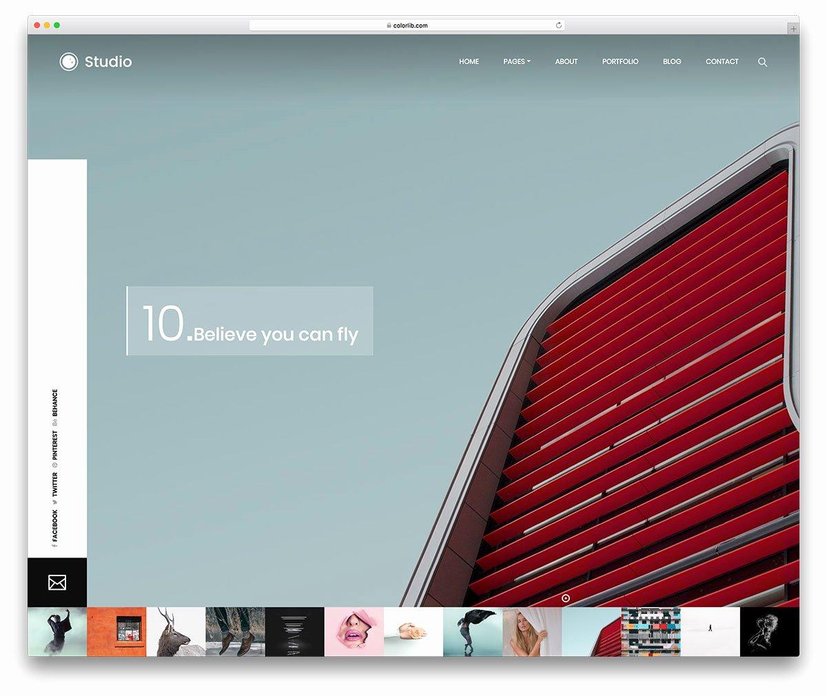 30 Best Stunning Free Graphy Website Templates [html