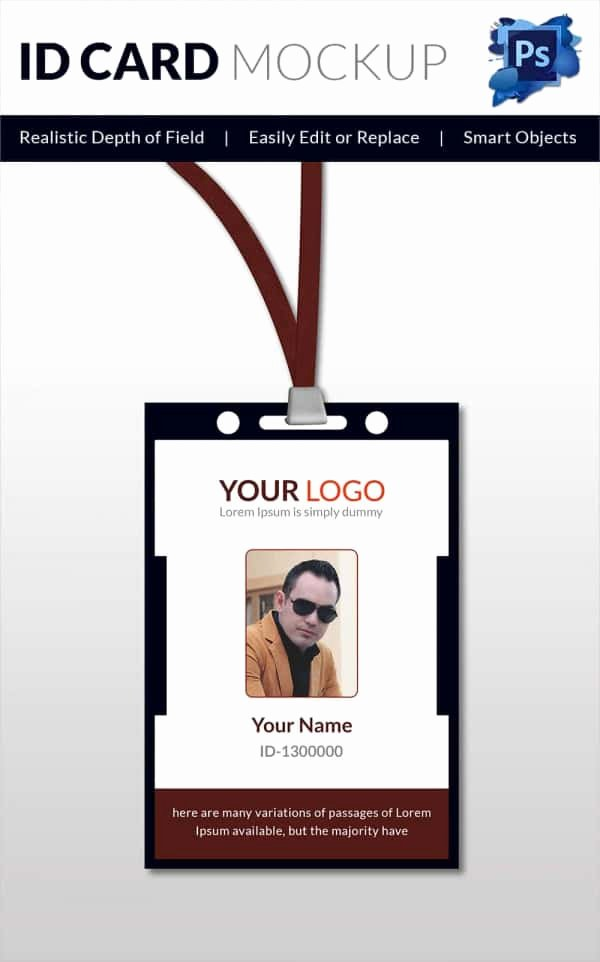 30 Blank Id Card Templates Free Word Psd Eps formats