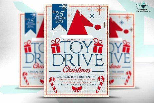 30 Christmas Flyer Templates Psd Vector format