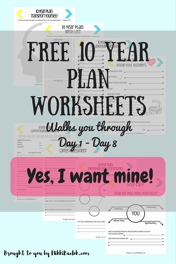 30 Day Challenge Creating A 10 Year Plan Days 1 15