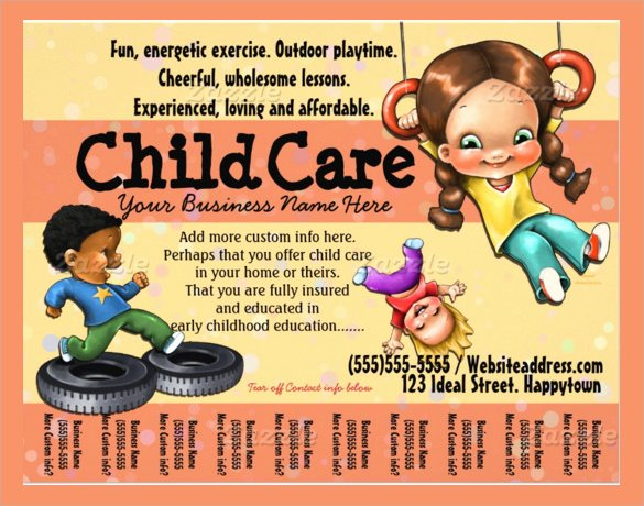 30 Daycare Flyer Templates