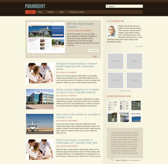 30 Dynamic PHP Website themes & Templates