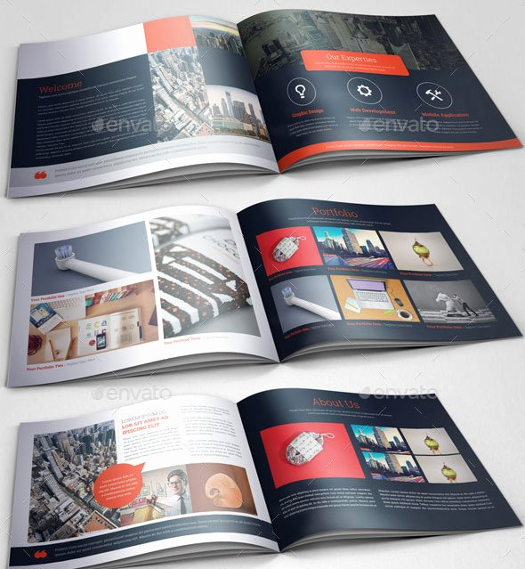 30 Eye Catching Psd & Indesign Brochure Templates