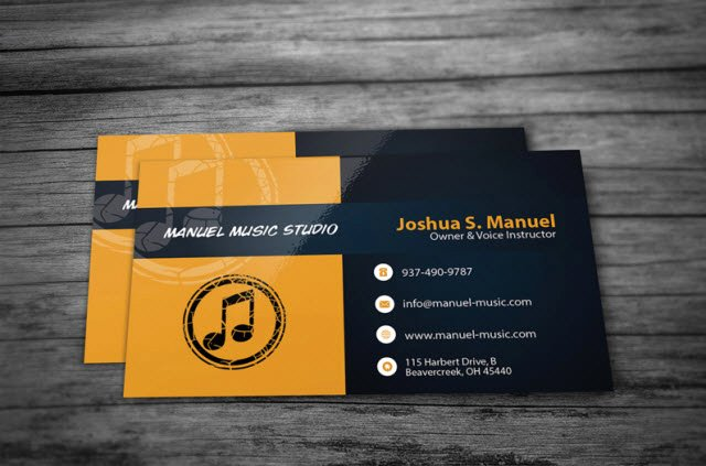 30 free business card templates every profession