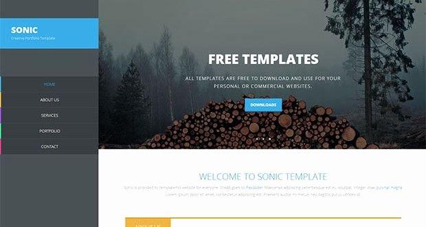 30 Free Dreamweaver Templates Design Pinterest