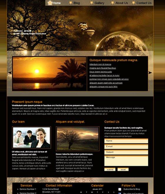 30 Free Flash Web Templates Web3mantra