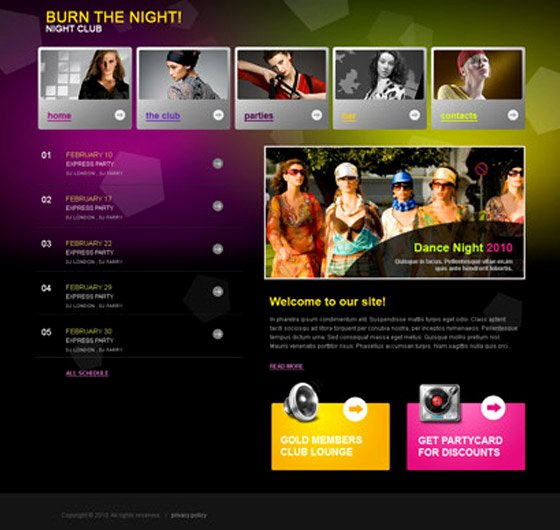 30 Free Flash Web Templates Web3mantra