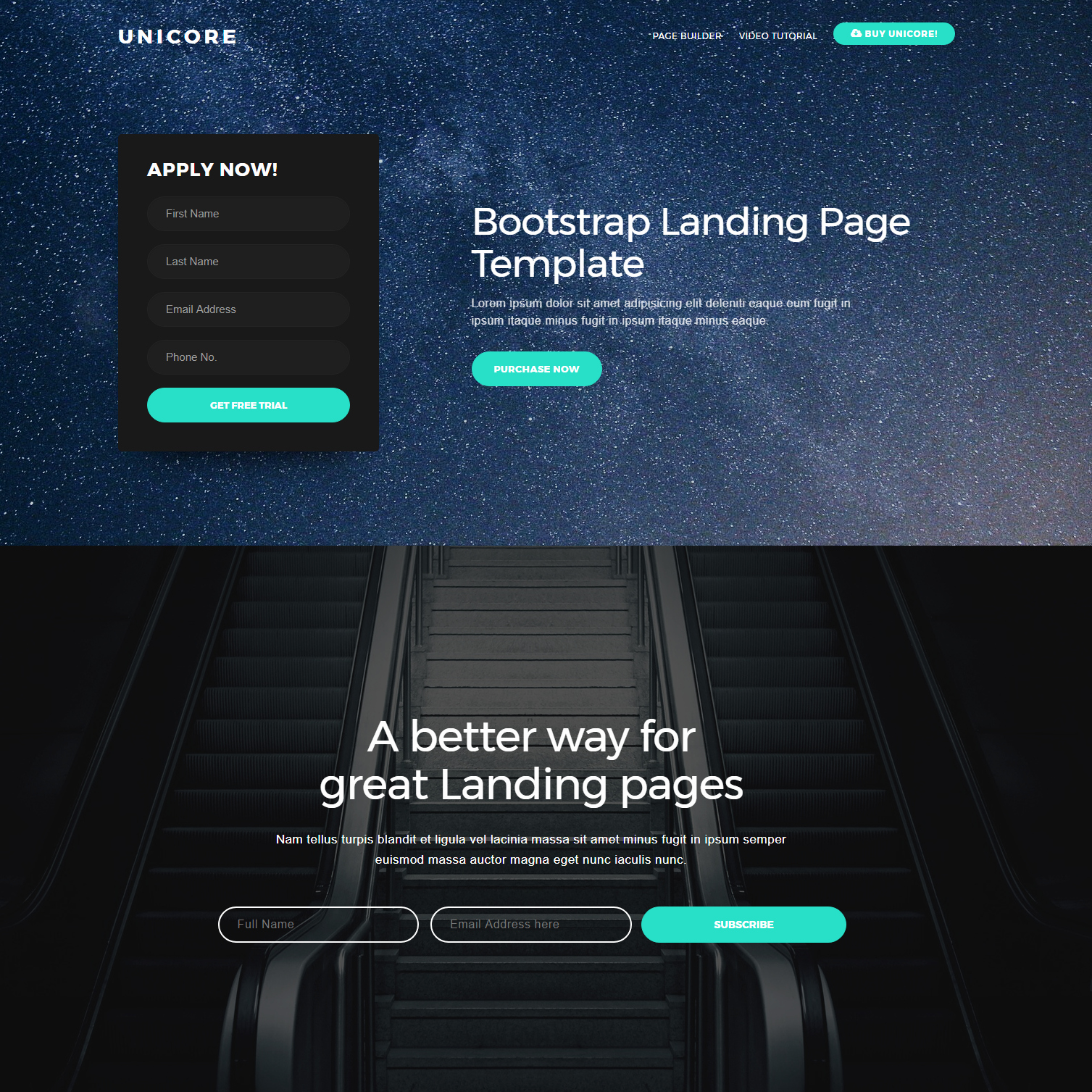 30 Free HTML5 Bootstrap Templates Of 2018 that Will Wow You