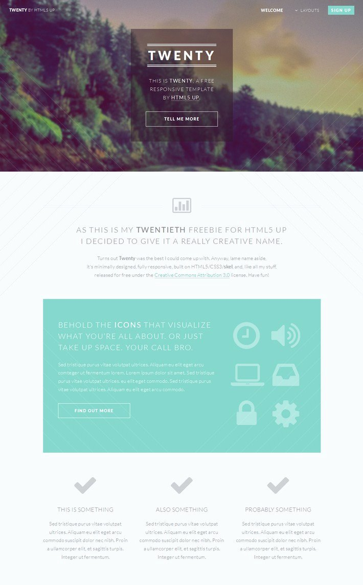 30 Free HTML5 Css3 Responsive Templates