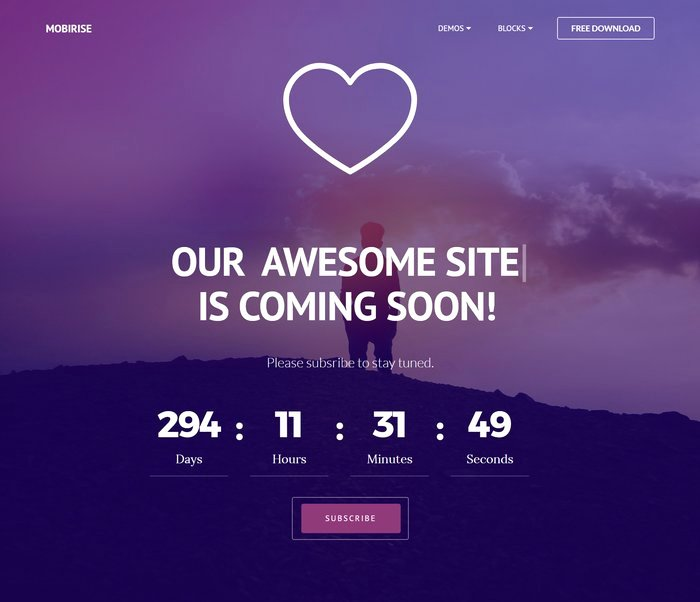 30 Free HTML5 Website Under Construction Ing soon