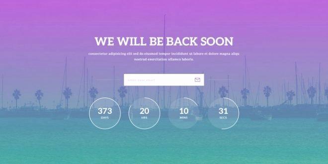 30 Free HTML5 Website Under Construction Ing soon